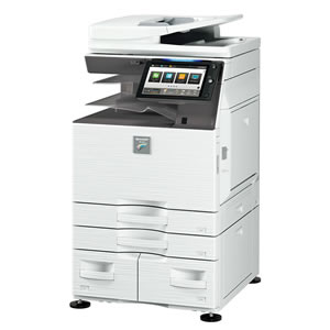 導入されたシャープコピー機のイメージ画像